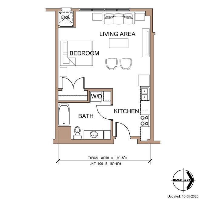 Farnam Flats Has A Variety Of Floor Plan Options Available For Rent